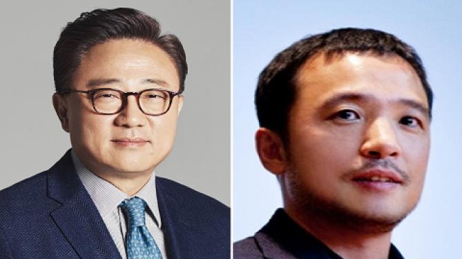 고동진 삼성전자 사장, 김택진엔씨소프트 대표이사 - 한국공학한림원 제공